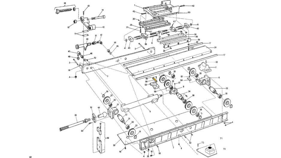 Diamec 232 Spare Parts