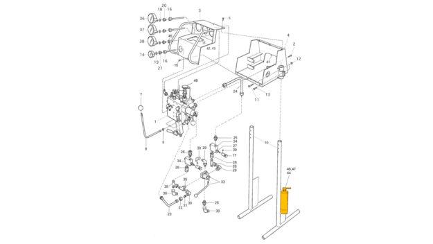 control panel  262   u2013 drill rigs spare parts